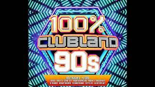 """""""VA - 100% Clubland 90s (2017) Disc: 2"""""""