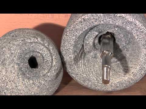 Schnitzer Handgetreidemühle-Krisenvorsorge-Getreide mahlen ohne Strom-Vollkornmehl mahlen