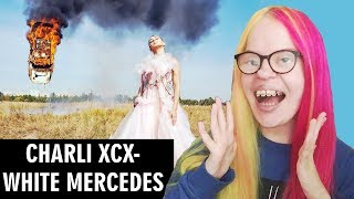 CHARLI XCX   WHITE MERCEDES (MUSIC VIDEO REACTION) | Sisley Reacts