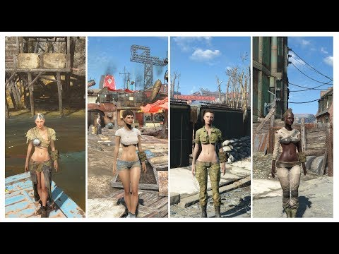 Fallout 4 - Sexy Victoria's Outfit Mod Hidden in WIP (DOWN