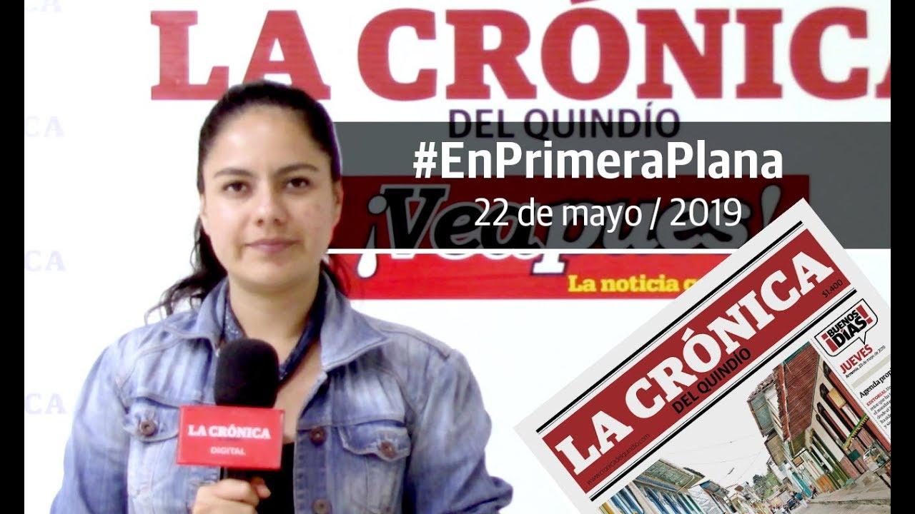 En Primera Plana: lo que será noticia este jueves 23 de mayo
