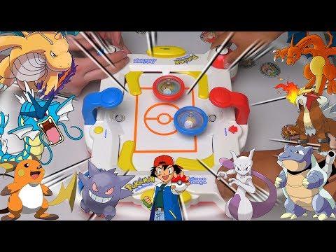 OMG POKEMON BEYBLADES | Pokemon Challenge Game