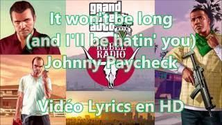 🎵⚔️☺️(It Won't Be Long) And I'll Be Hating You | Johnny Paycheck | Vidéo Lyric en HD☺️ ⚔️🎵