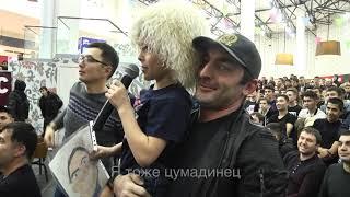 Хабиб Нурмагомедов принял в Самаре вызов отжаться