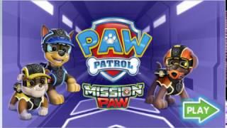 Мультик игра Щенячий патруль: Миссия Лапа (PAW Patrol: Mission PAW)