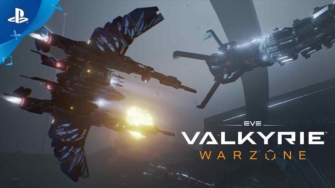 O Jogo de Tiro de Naves em Primeira Pessoa EVE: Valkyrie – Warzone Chega Hoje para PS4