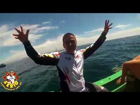 Rogerinho mostra porque é o maior pescador de alto mar de Juquitiba