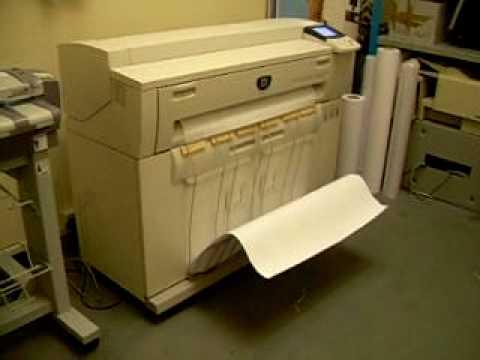 Copiator A0 laser Xerox 6204