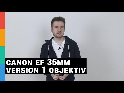 Canon EF 35mm f/2.0 Version 1 Objektiv Review / Erfahrungsbericht