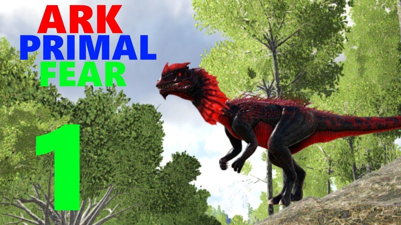 1] Taming An Apex Dilo! (Ark Primal Fear Modpack)