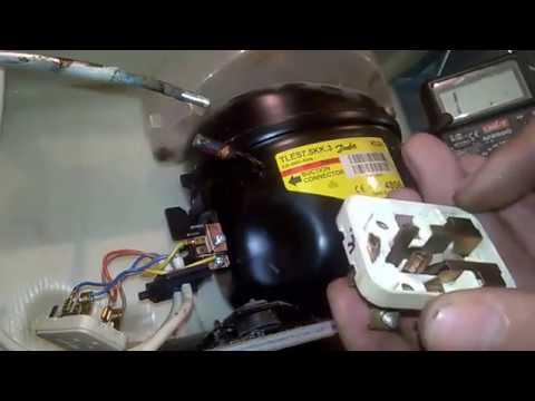Проверить мотор и реле на холодильнике Indesit и Атлант