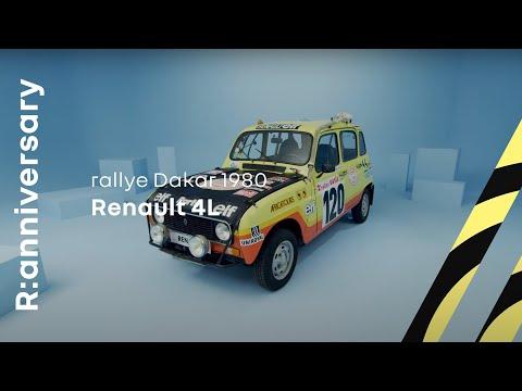 Musique publicité Renault 4 Rallye Dakar     Juin 2021