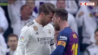 Messi 😡 Vs Ramos 👊 FIGHT! Barcelona Vs Real Madrid 0-1