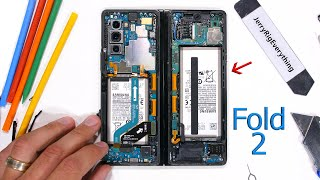 Samsung Galaxy Z Fold2 5G Teardown - Where is the 'Folding Glass?