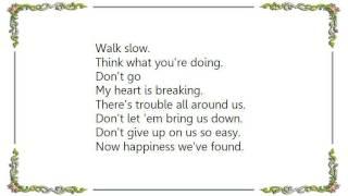 Chris Isaak - Walk Slow Lyrics