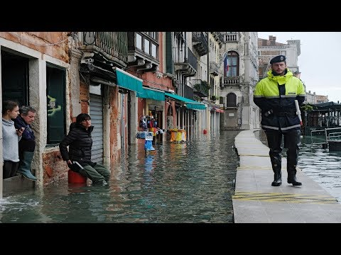 Venice flooded for third time in a week