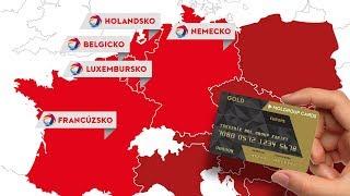MOL Group GOLD karta EUROPE