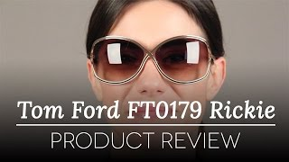 Tom Ford Sunglasses Review - Tom Ford Rickie FT0179 48F Sunglasses Review