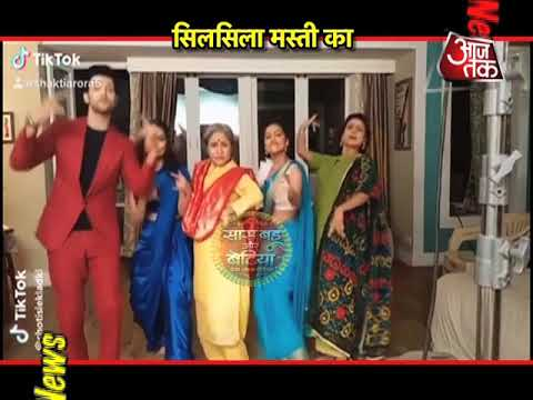 Fun On The Sets Of Silsila Badalte Rishton Ka