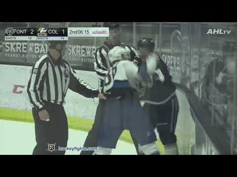 Kyle Burroughs vs. Brett Sutter