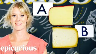 Cheese Expert Guesses More Cheap vs Expensive Cheeses | Price Points | Epicurious - dooclip.me