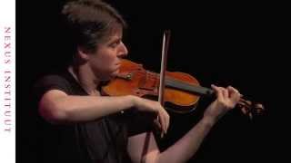 Joshua Bell performs Bach's Chaconne, the final movement from Violin Partita 2 in D minor