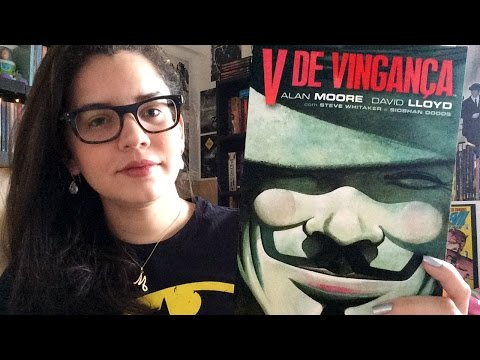 V DE VINGANÇA, de Alan Moore e David Lloyd (GRAPHIC NOVEL) | BOOK ADDICT