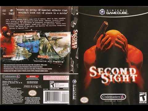 "GAMECUBE "" SECOND SIGHT "" COMPLET AVEC NOTICE, COMME NEUF !!"