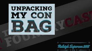 Unpacking a Convention Bag