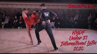 2020 NYDF I Under 21 International Latin I Semi Final