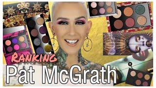 Ranking All My Pat McGrath Palettes!