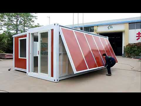 China Unveils an Expandable Container that can get you a house in 10 minutes