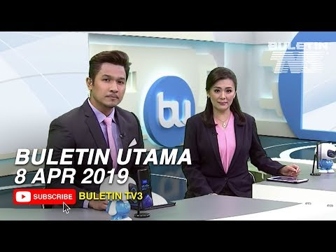 Buletin Utama (2019)   Isnin, 8 April