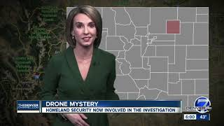 Homeland Security, FBI now investigating mystery drones in northeastern Colorado