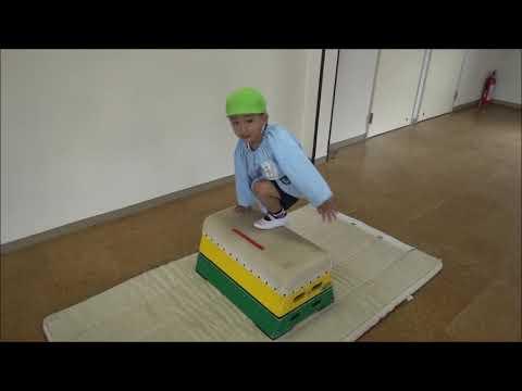 笠間 友部 ともべ幼稚園 子育て情報「ホールでおあそび(年少)」