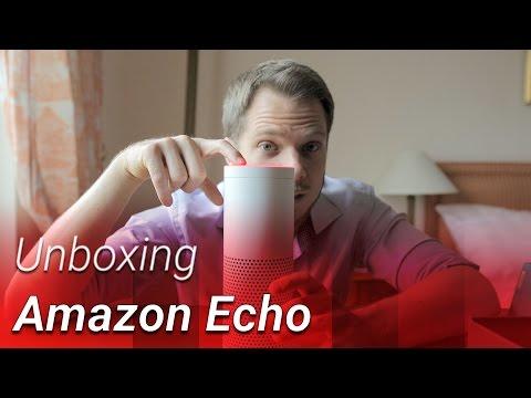 Amazon Echo und Alexa auf Deutsch – Unboxing & Hands-on