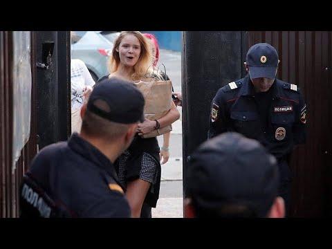 Εκ νέου σύλληψη των Pussy Riot