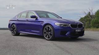 Новый седан BMW M5 Competition 2018 года   НОВИНКИ АВТО 2018 Часть 2
