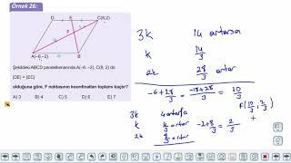 Eğitim Vadisi 11.Sınıf Matematik 6.Föy Analitik Düzlem 3 Konu Anlatım Videoları