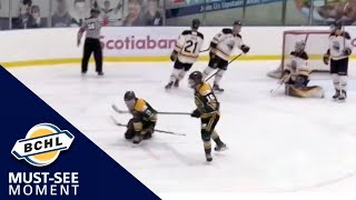 Must See Moment: Josh Kagan records a hat-trick in his first game with Powell River