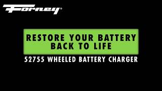 52755 Wheeled Battery Charger Features