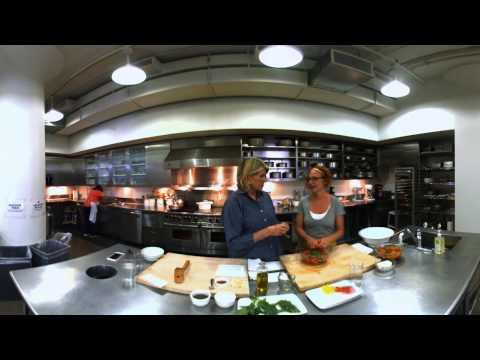 360° Video: Martha and Sarah Making No-Knife Pasta