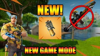 Fortnite 4.4 Update - They Have NERFED TF Out Of Rockets, Stink Bomb & *NEW* GAME Mode