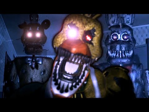 FNAF 4 HAS NEVER LOOKED THIS GOOD! || Five Nights at Freddy's 4 Remastered (Unity)