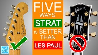 5 Reasons Fender Stratocasters Are Better Than Gibson Les Pauls