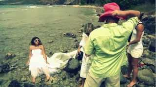 preview picture of video 'Trash the Dress Antigua & Barbuda - The Kingsleys'