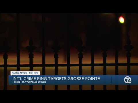 International crime ring targets Grosse Pointe