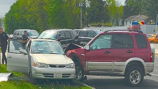 🇺🇸 AMERICAN CAR CRASH / INSTANT KARMA COMPILATION #139