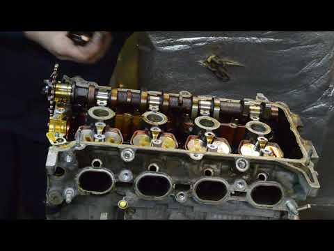 Разбор двигателя 2NZ-FE