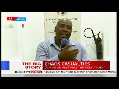 Lead researcher, HRW Otsieno Namwaya on postmortem results of casualties after Raila Odinga's return